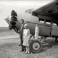 Charles Lindbergh felesége férje másodpilótája volt