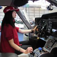 Magyar pilótanő Friedrichshafenben