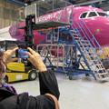 Lufthansa Technik hangárjában jártam
