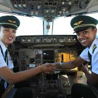 Csupa nő az Ethiopian légitársaság Addis Ababa-Lagos járatán
