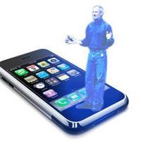 Ez a jövő? A hívó 3D-s hologramja a mobilon
