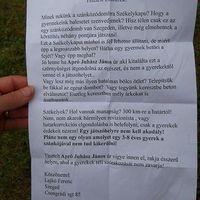 Székely-magyar háború Szegeden, szaftos backdoor üzenettel