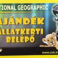 National Geographic-jeggyel nem engednek az Állatkertbe