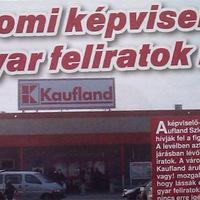 A Kaufland sem tud magyarul Szlovákiában