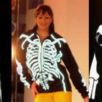 Világító csontvázdzseki