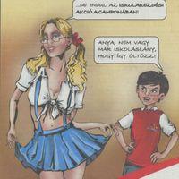 Anya-fia erotikával reklámoz a Campona