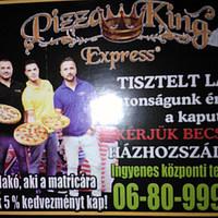 Pizza King - expressz helyett lóvasút