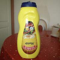 Léggyel dúsítja a mustárt a Globus