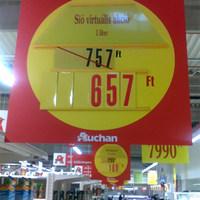 Virtuális világba menekült az Auchan