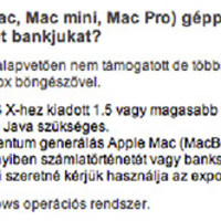 CIB vs Macintosh