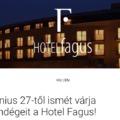 További károsultakkal vágott neki a Voltnak a Hotel Fagus/Frissült a hotel nyilatkozatával
