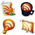Szép RSS feed ikonok