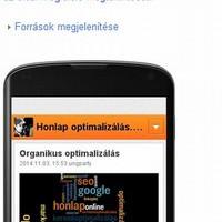 Mobilbarát weblap, keresés mobilról