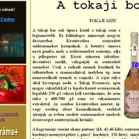 Tokaji bor honlap optimalizálása