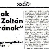 Szombat esti rémálom - Csecsemőgyilkosság Budapesten
