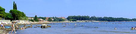 horvátországi horvátország információ tengerpart homokos nyaralás part