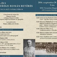 Erdélyrészi román betörés, 1916. Konferencia