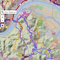 UTH55, vagy mi a neve most, Szentendre Trail pályabejárás