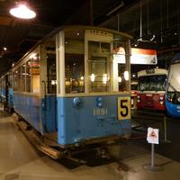 Életképek - Stockholm villamosmúzeumából és a városból