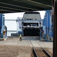 Vasúti kompok a Balti-tengeren 1. rész - Dánia