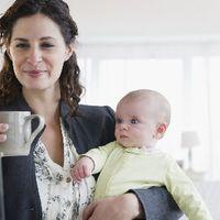 Egészségesebbek a dolgozó anyák