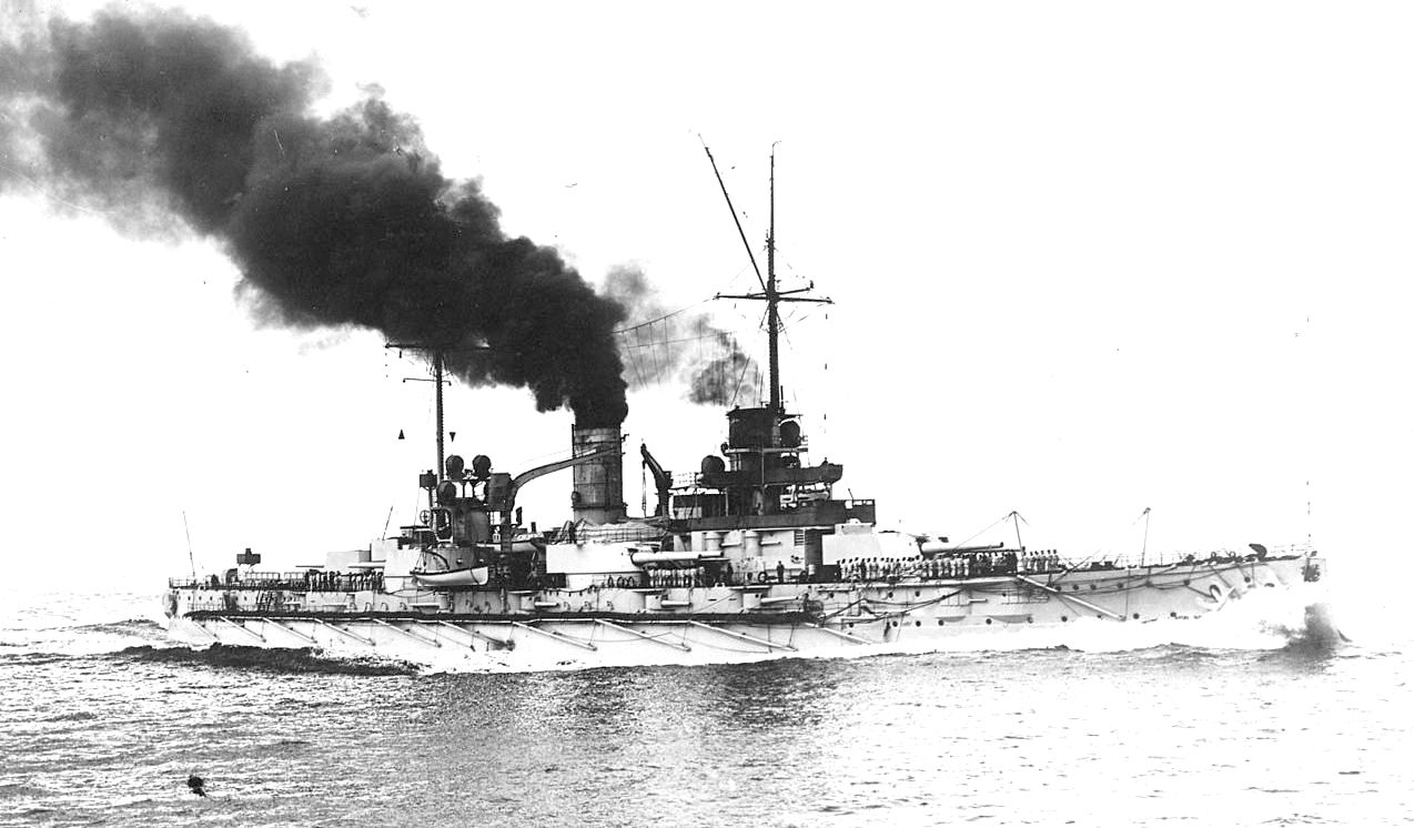 A Nassau, az első német dreadnought.