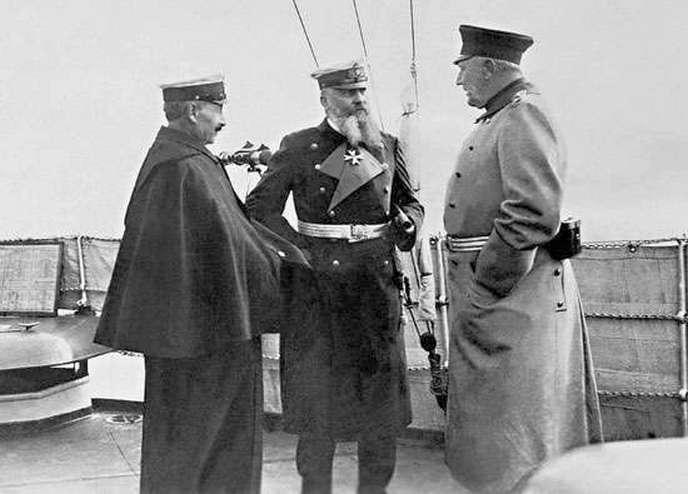 Az agytröszt. Vilmos, Tirpitz, és Moltke.