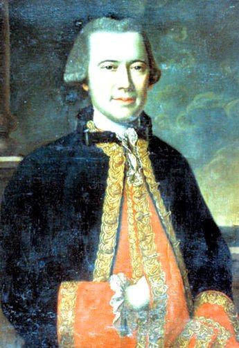 Louis Aleno de Saint-Aluarn, a Gros Ventre kapitánya. (1738-1772)
