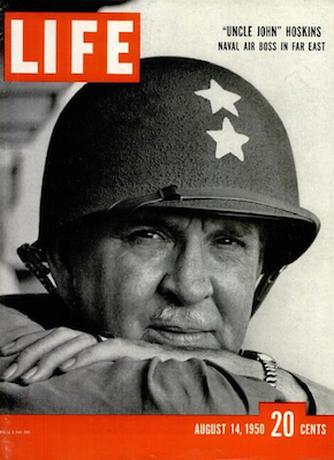 John Madison Hoskins (1898-1964), a Life címlapján.