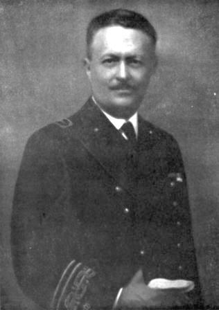 A zsidó származású Umberto Pugliese (1880-1961), az olasz haditengerészet egyik vezető konstruktőre.