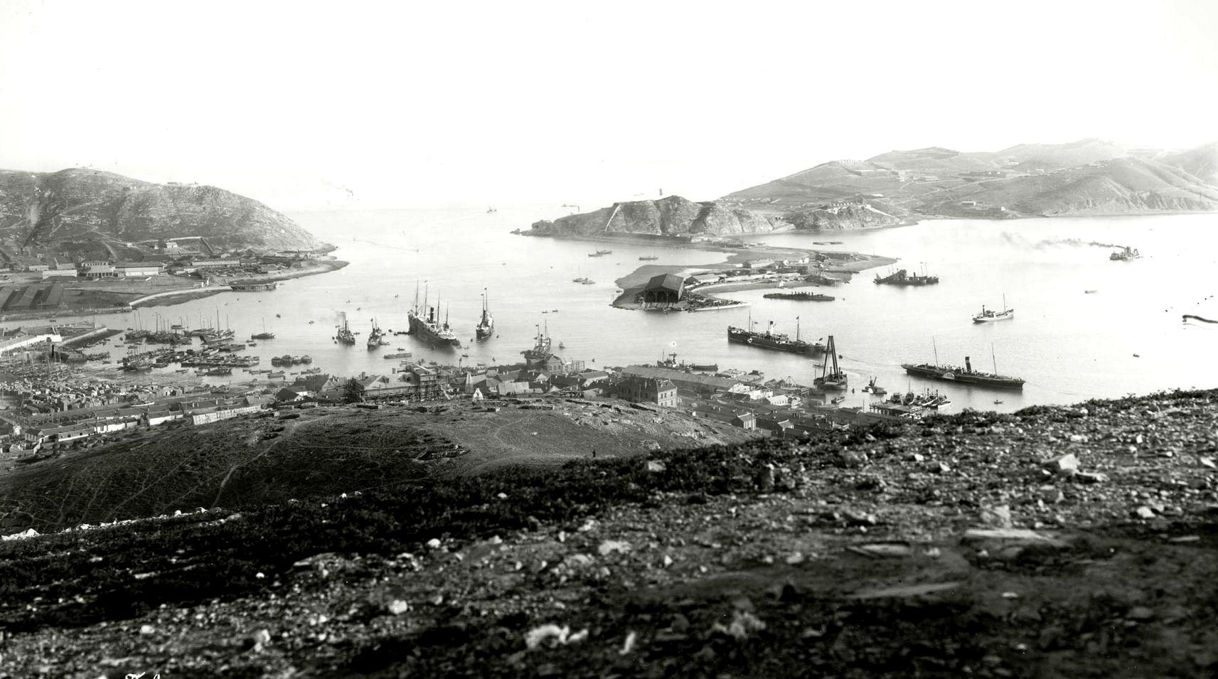 A távol-keleti versengés tétje, Port Arthur kikötője.