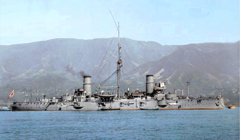 A Garibaldi osztályba tartozó japán Nissin.