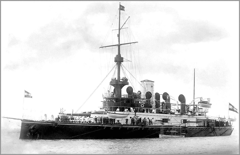 Monarch osztályú partvédő páncélos.