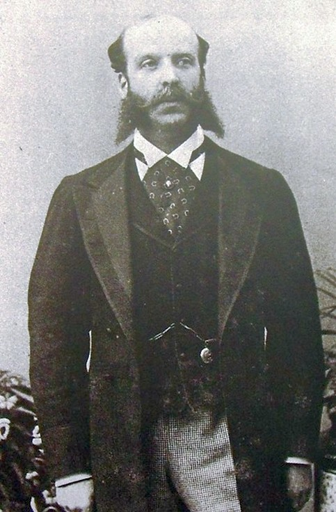 Albert Salomon Anselm von Rothschild báró, a Monarchia egyik szürke eminenciása.