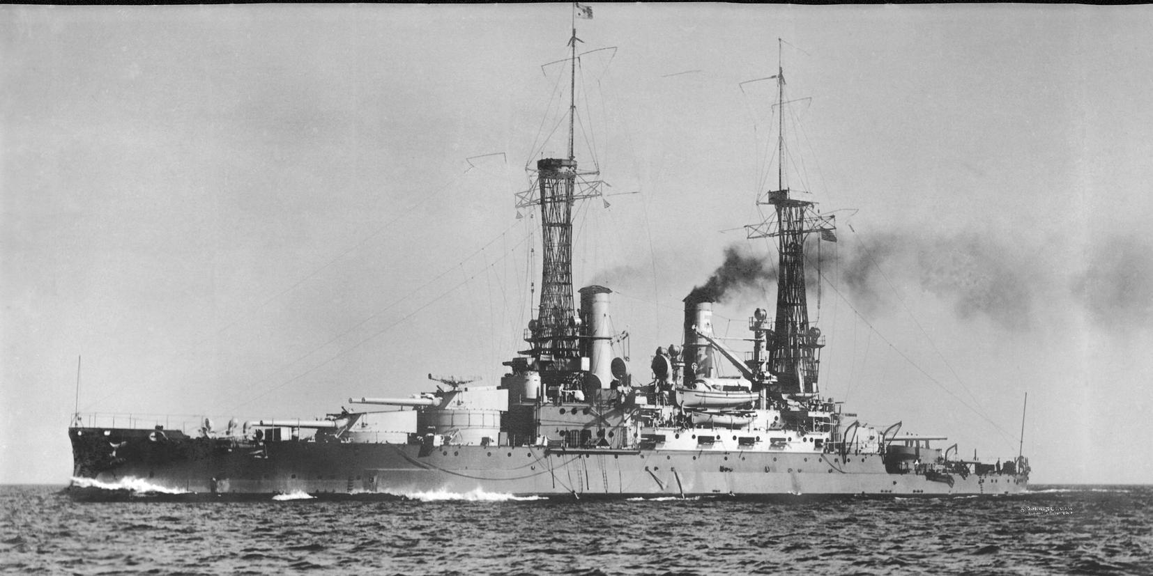 A Michigan, az első amerikai dreadnought.