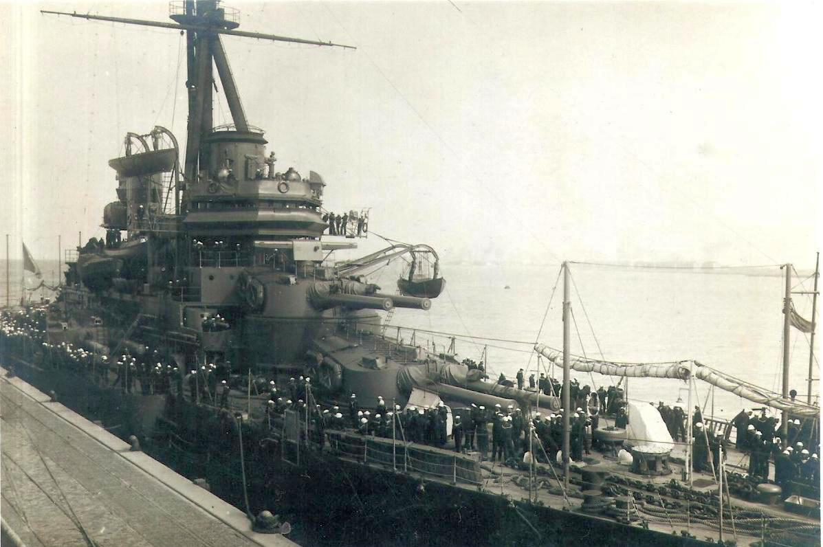 A Sao Paulo Recife kikötőjében, a második világháború idején.