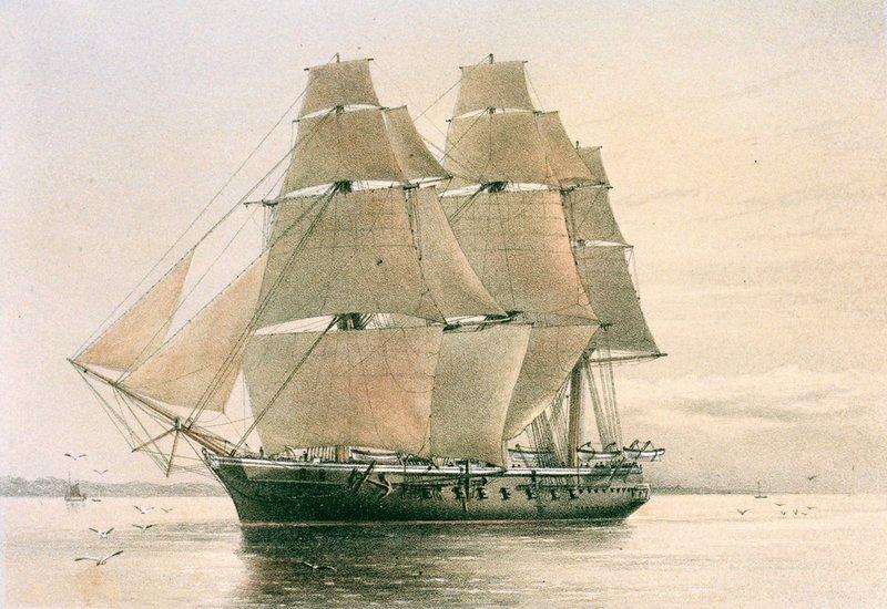 A Boadicea, Scott első hajója.