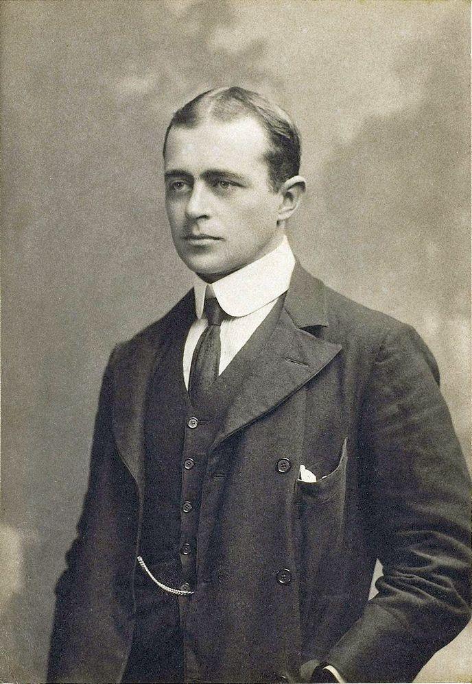 Scott civilben, 1900 körül.