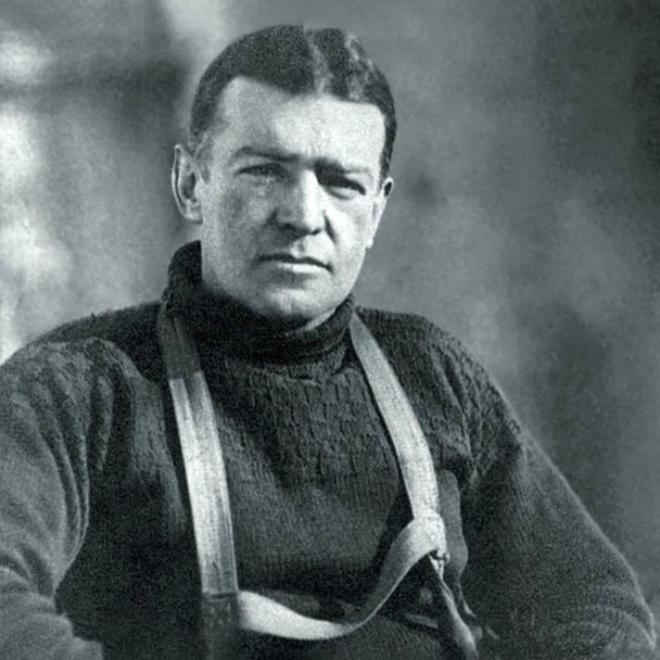 Ernest Henry Shackleton, a legveszélyesebb rivális.