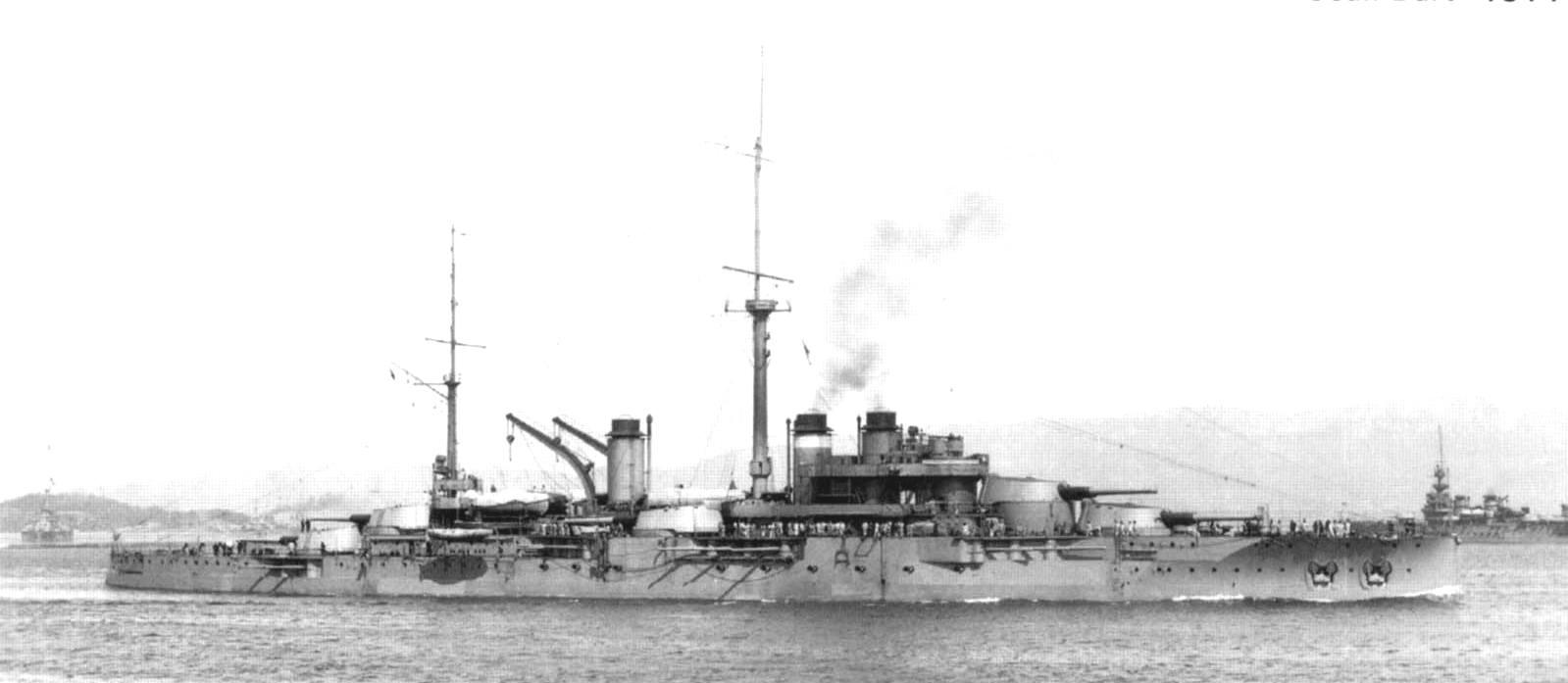 A Jean Bart, 1914-ben.