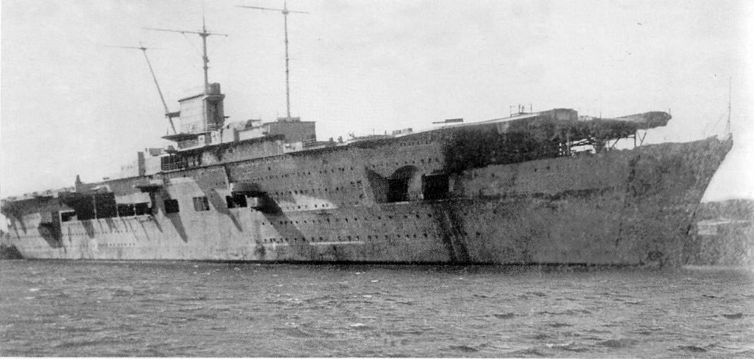 A Gdanskban horgonyzó Zeppelin, még 1941-ben.