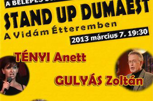 Stand Up Dumaest Budapesten