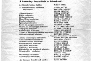 Gondoltad volna, hogy Nagy Imre kormányában Kádár János mellett 8 másik miniszter is tagja volt a forradalmat megtorló kormánynak!?