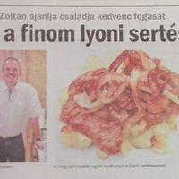 Húsimádó blogja ajánlja: lyoni sertésszelet