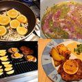 Narancsos pácban érlelt, grillezett tarják mártással