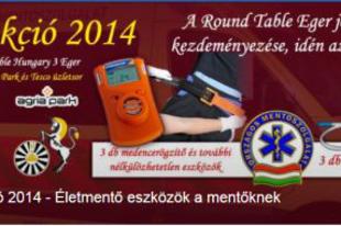 Maci Akció 2014 - Életmentő eszközök a mentőknek