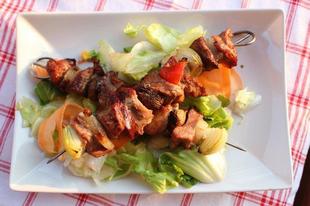 Saslik - egy könnyed tavaszi grillezés