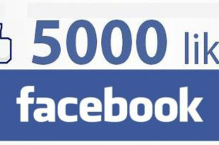 5000 követő a Facebook-on