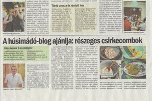 A húsimádó-blog ajánlja: részeges csirkecombok