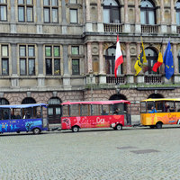 Városnéző busz Antwerpenben